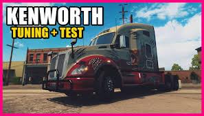kenworth truck bumpers american truck simulator kenworth t680 hi rise sleeper tuning