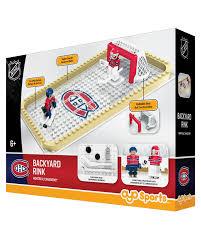 nhl hockey minifigures backyard rink montreal canadiens www