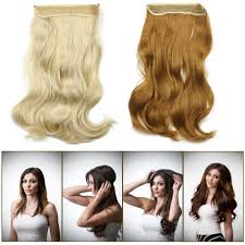 flip in hair 2016 new hot 20inch 50cm 135g wavy hair extensions hairpiece