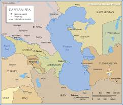 Picture Of A World Map by Map Of The Caspian Sea Nations Online Project