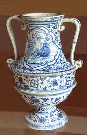 Blue And White Vase Blue And White Pottery Wikipedia
