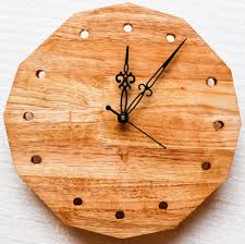 buy wooden wall clock u2022 barish