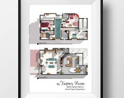 Famous House Floor Plans Friends Tv Show Apartment Floor Plan Friends Tv Show Layout