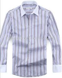 men u0027s cotton striped white collar and white french cuff dress