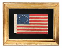 Betsy Ross Flags Jeff Bridgman Antique Flags And Painted Furniture 13 Hand