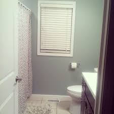 love our new bathroom color sherwin williams silvermist paint bathroom