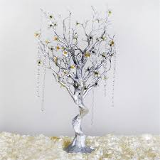 manzanita tree branches 30 glittered vogue manzanita centerpiece tree with flower tipped