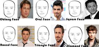 head shapes and hairstyles top graphic of hairstyles for different face shapes chester gervais