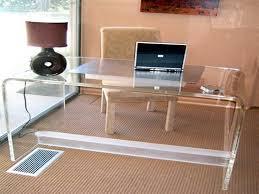 Clear Desk Accessories Clear Office Desk Photogiraffe Me
