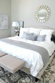Grey And White Bedding Sets Bed Runner Home Collection South America Embroidery Lace Fluffy