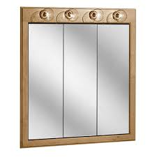 Bathroom Mirror Cabinets With Lights by 32 Lighted Bathroom Medicine Cabinets Salerno Lighted Triview