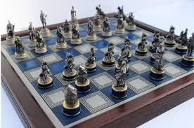 the civil war chess set by franklin mint