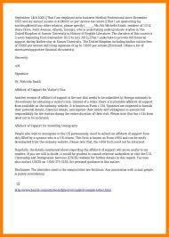 Affidavit Of Support Sle Letter For Tourist Visa Japan affidavit of support sle affidavit of support 8 exles in pdf