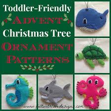felt toddler friendly advent christmas tree peek at the next 5