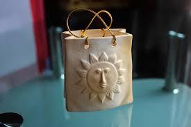 wedding cake boxes fired clay pouch cake box ornament souvenir sri lanka online