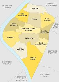 Map Of Seville Spain by File Barrios De Casco Antiguo Sevilla Svg Wikimedia Commons