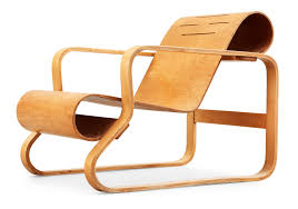 Aalto Armchair An Alvar Aalto Laminated Birch And Plywood Armchair U0027paimio