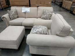 sofa chair and ottoman set synergy home fabric sofa chair and ottoman set costco97 com