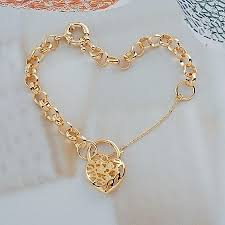 women bracelet heart images 2018 wholesale fashion jewelry bracelet 8mm 210mm fashionable jpg