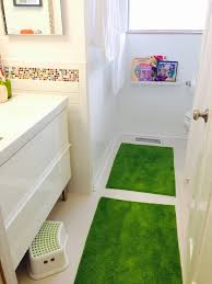 diy bathroom remodel from worst bathroom ever to bright and fun