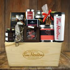coffee gift baskets tim horton s decadence gift basket