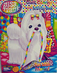 amazon com lisa frank coloring and activity book fun with