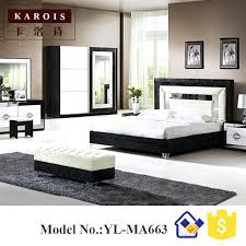 chambre de garde lit moderne blanc pakistan meubles moderne lit design noir avec