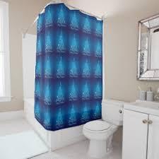 christmas tree shower curtains zazzle
