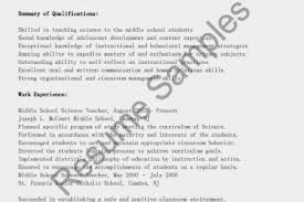 Science Teacher Resume Examples by Resume Samples Earth Science Teacher Resume Sample Science