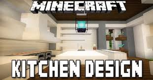 minecraft tutorial modern kitchen design how to build a modern