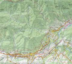 Swiss Alps Map Hiking Map 19 Giulie Alps U0026 Tarvisio Carnic Alps Italy