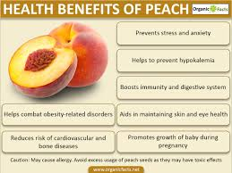 18 amazing benefits of peach organic facts
