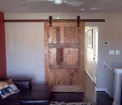 Vintage Sliding Barn Door Hardware by Buy A Custom Reclaimed Wood Sliding Barn Door With Vintage