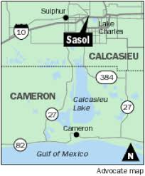 Lake Charles Louisiana Map by Why Sasol Is Delaying 14b Fuel Facility The Priciest