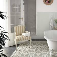 moroccan tile bathroom decorative victorian floor tiles in a period bathroom setting