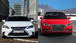 lexus ct200h app 2016 lexus ct 200h vs 2016 audi a3 e tron youtube