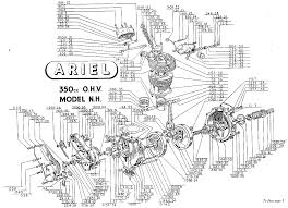 ariel 350 single engine diagram machine pinterest ariel