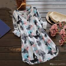 summer style casual boho dresses for women multicolor long sleeve