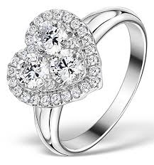 heart style rings images Lady gaga style heart engagement rings get the look jpg