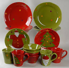 Pottery Barn Dishes Dinnerware Lenox Christmas Dinnerware Reindeer Christmas
