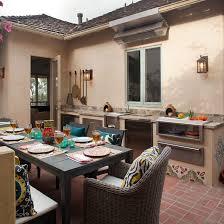 Home Outdoor Kitchen Design Hillside Home Outdoor Kitchen Design Studio West