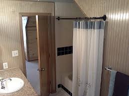 Removable Shower Curtain Rod by Elegant Hotel Shower Curtain Rod All About Home Design