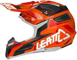 black motocross helmets leatt gpx 5 5 motocross helmet orange black buy cheap fc moto