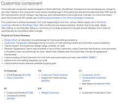 Sample It Resume by Maintaining Core Component Pages U2013 Make Wordpress Core