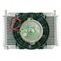 oil cooler with fan flex a lite automotive transmission engine oil coolers