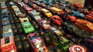 monster jam grave digger truck lot of 69 wheels 1 64 monster jam trucks grave digger 25th