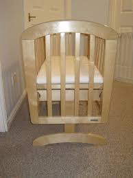 john lewis anna gliding crib natural wood in motherwell north