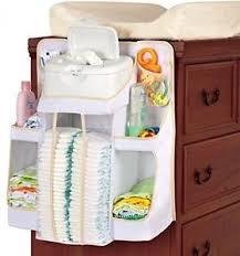 diaper change organizer hanging baby infant holder storage