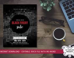 adobe black friday sale black friday flyer template minimal black friday flyer
