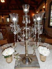 candelabra rentals linens and events silver candelabra centerpiece rental linens